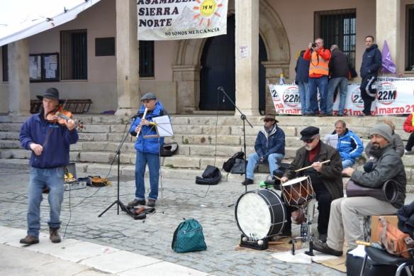 Actuación grupo musical Torrelaguna 19.03.2015